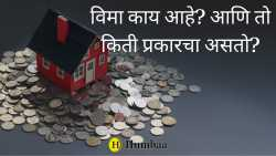 How many types are of insurance are there in marathi
