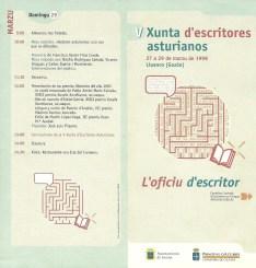 Programa de mano de la Xunta 1