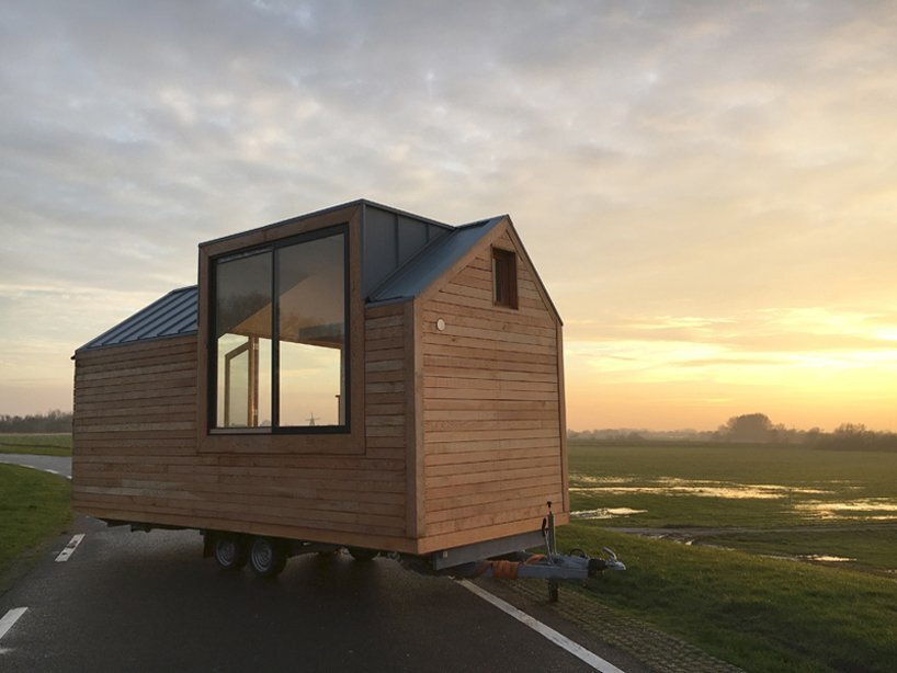 Porta Palace Tiny House - Daniel Venneman - The Netherlands - Exterior Back - Humble Homes