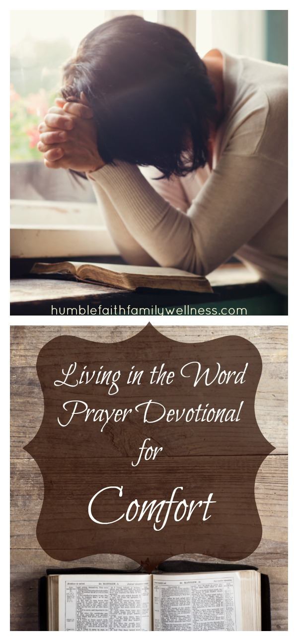 Comfort, Prayer devotional