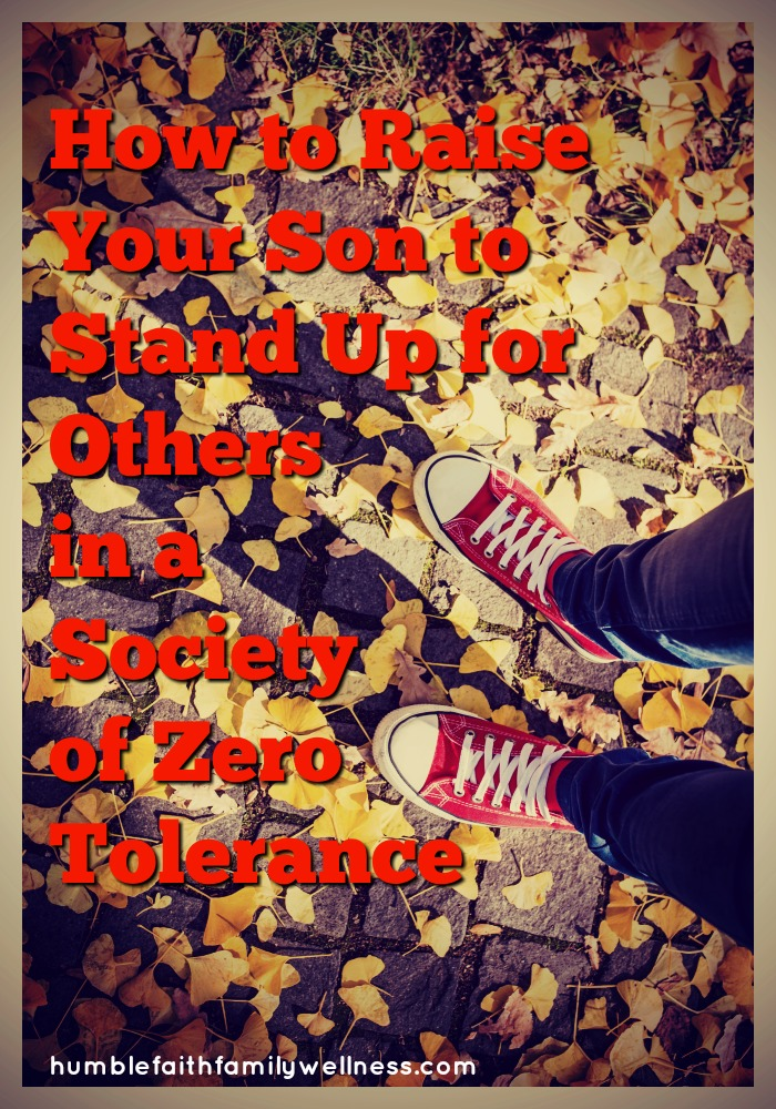 Stand up, parenting, zero tolerance