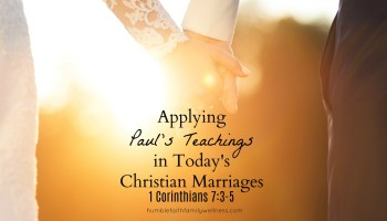 what makes a christian marriage work
