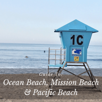 Ocean Beach, Mission Beach and Pacific Beach City Guide