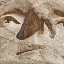 Mt. Rushmore (patched fissures on T.J.'s face)