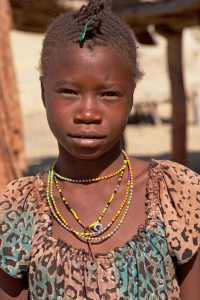 Himba girl (non-traditional attire)