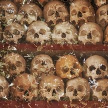 Wat Thmey killing fields museum (Siem Reap)