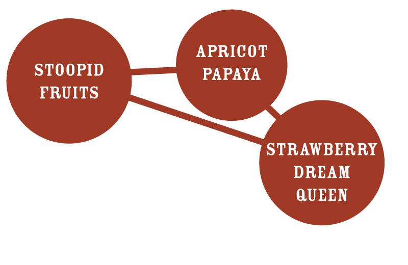 Slightly Stoopid Stoopid Fruits Graph