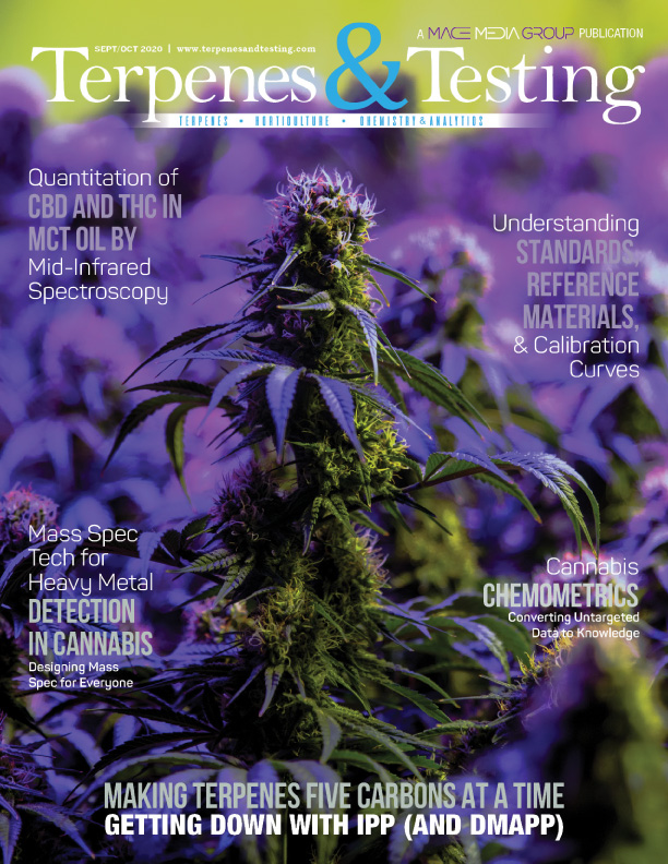 Terpenes and Testing Magazine Feature