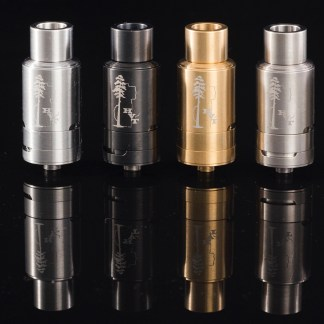Titanium, Gold, Black, and Stainless Sai Atomizer