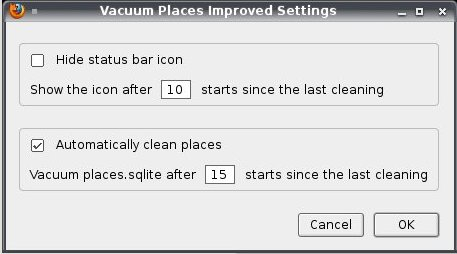 Vacuum Preferences