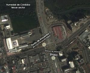 Mapa Humedal Córdoba