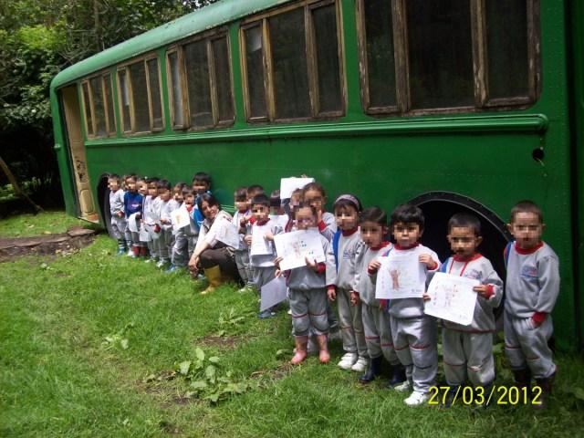 Actividad infantil en el ECObus 2012