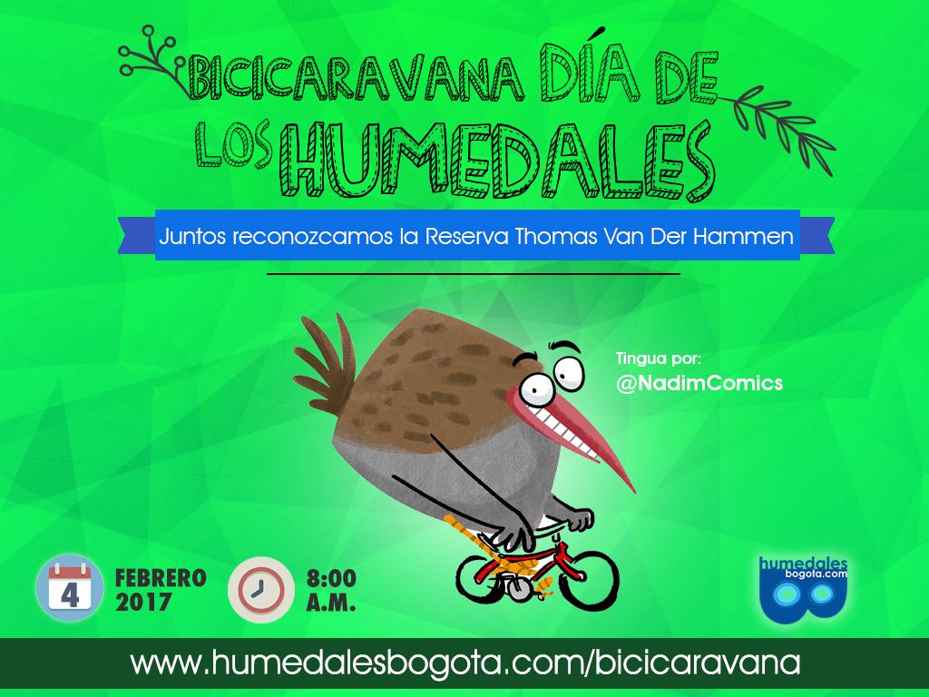 Ruta Bicicaravana 2017: Juntos reconozcamos la Reserva Thomas Van der Hammen