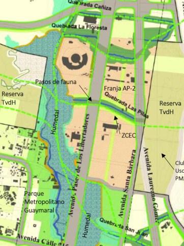 Mapa Corredores Conectividad