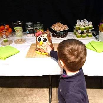 Le quatrans avec le gâteau Chouette Box - by Humeur de moutard