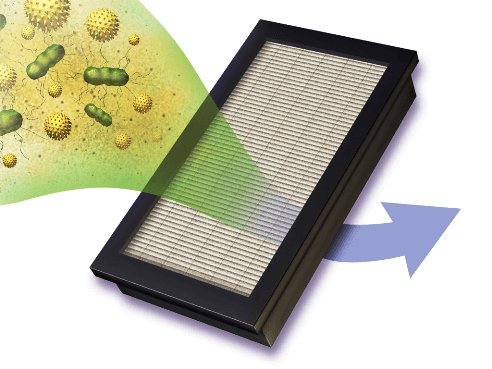 Image of hepa filter mold