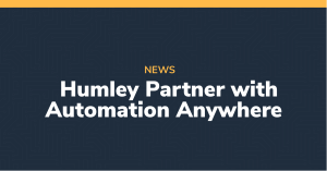 Humley Partner with Automation Anywhere