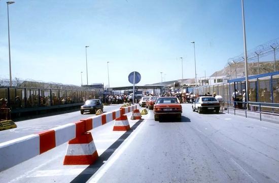 La douane à Ceuta