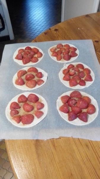Tartes rapides aux fruits