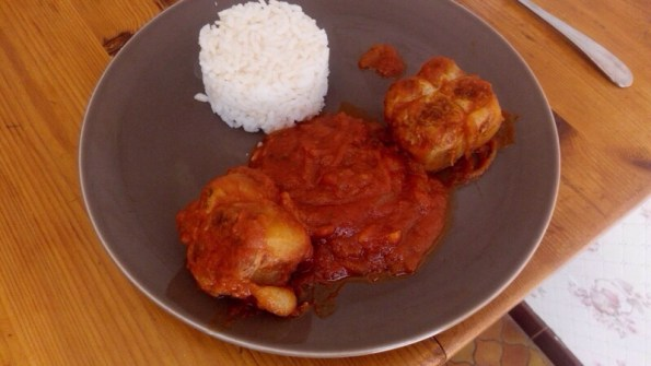 Paupiettes de veau à la sauce tomate