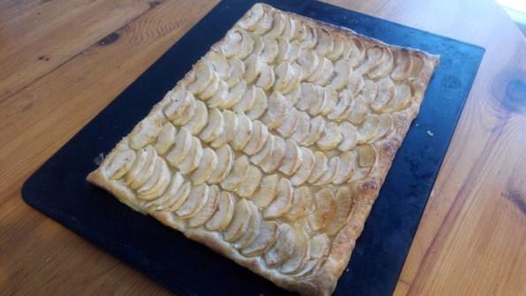 Tarte feuilletée pommes ou poires