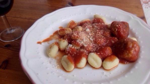 Gnocchis à la sauce tomate