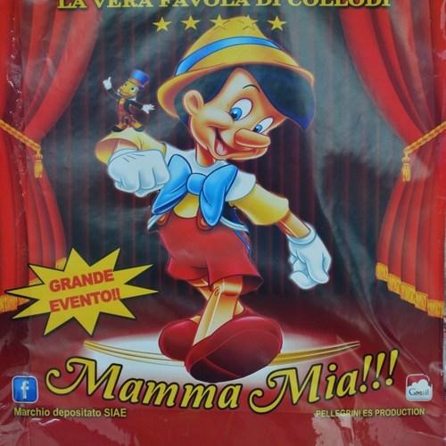 Le nez de Pinocchio