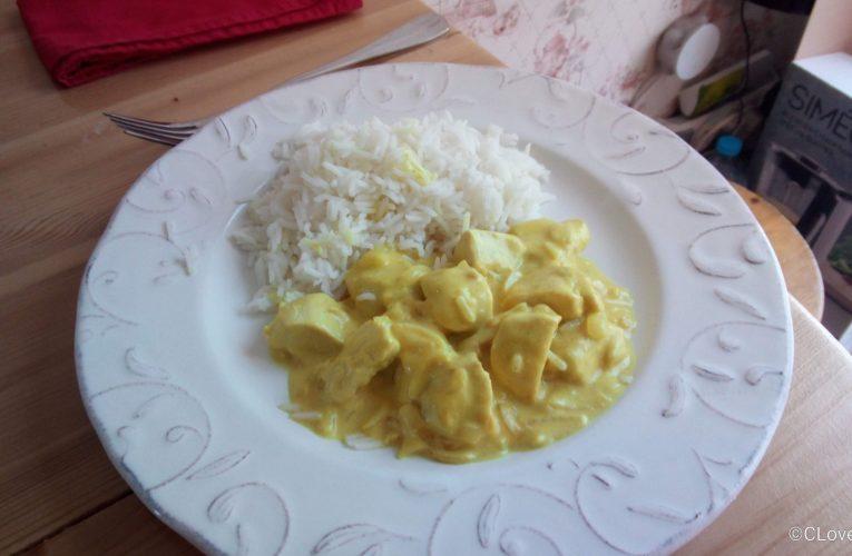 Poulet sauce moutarde