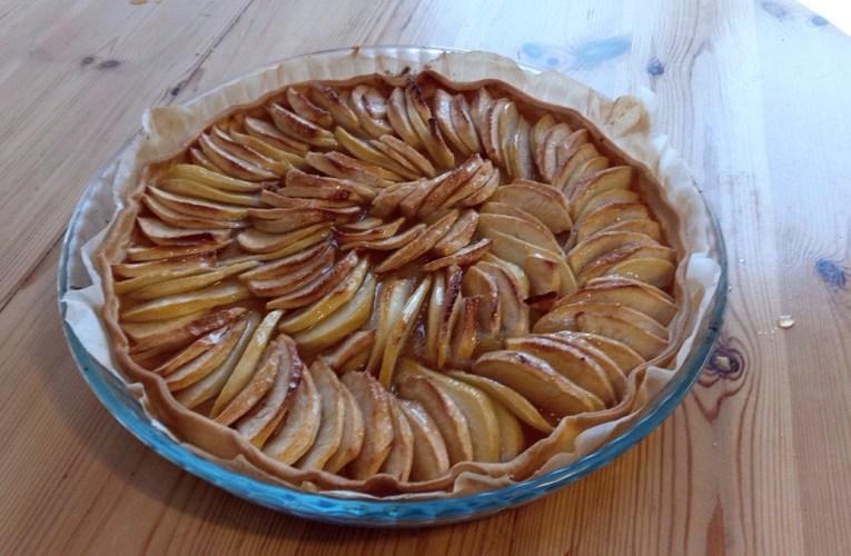 Tarte pomme poire
