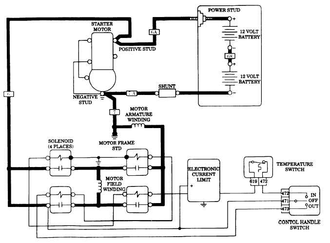 wiring diagram for 12 volt winch relay  u2013 powerking co