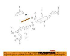 Прокладка выпускного коллектора Hummer h2,CHEVROLET,GMC,PONTIAC 12617944