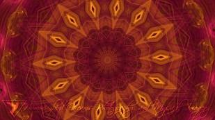 Rose Gold Mandala 2