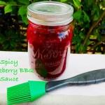 Spicy Blackberry BBQ Sauce