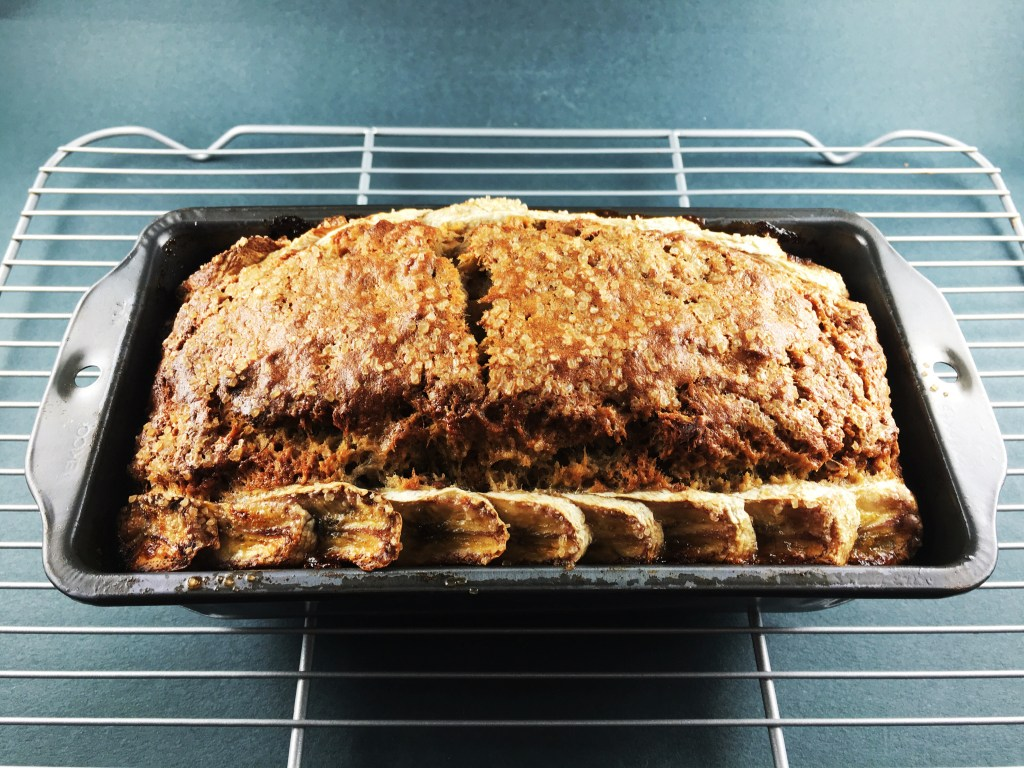 Banana bread beautiful loaf