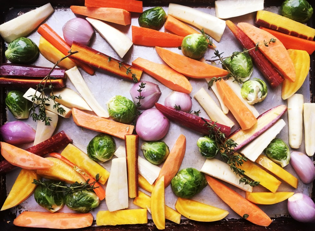 Root Vegetables, roasted