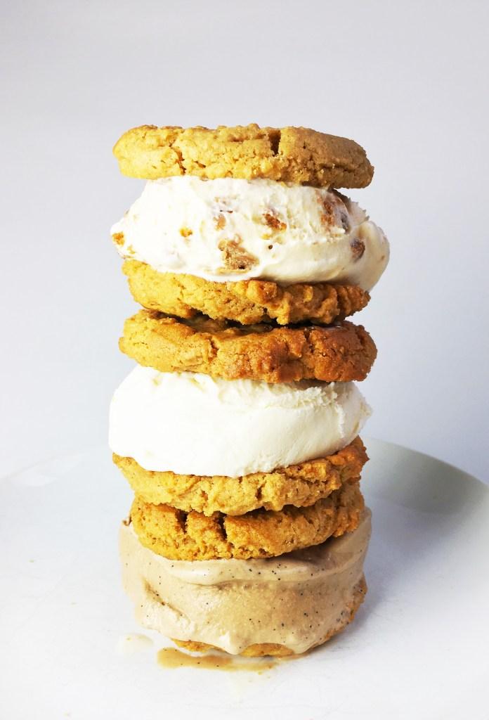 Peanut Butter Ice Cream Sandwich
