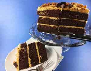 Chocolate Cake Peanut Butter