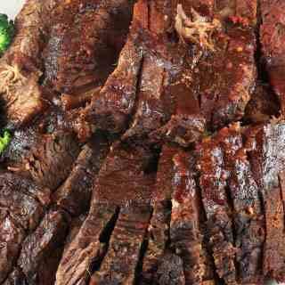Sweet Sour Beef Brisket