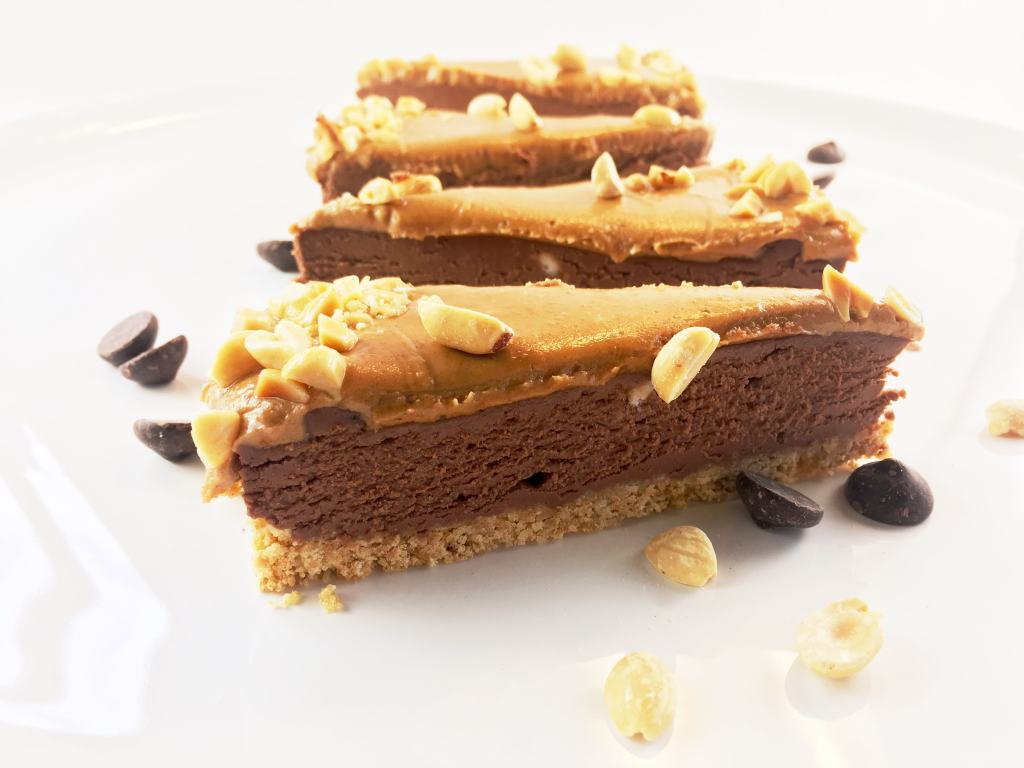 Chocolate Peanut Butter Cheesecake No Bake