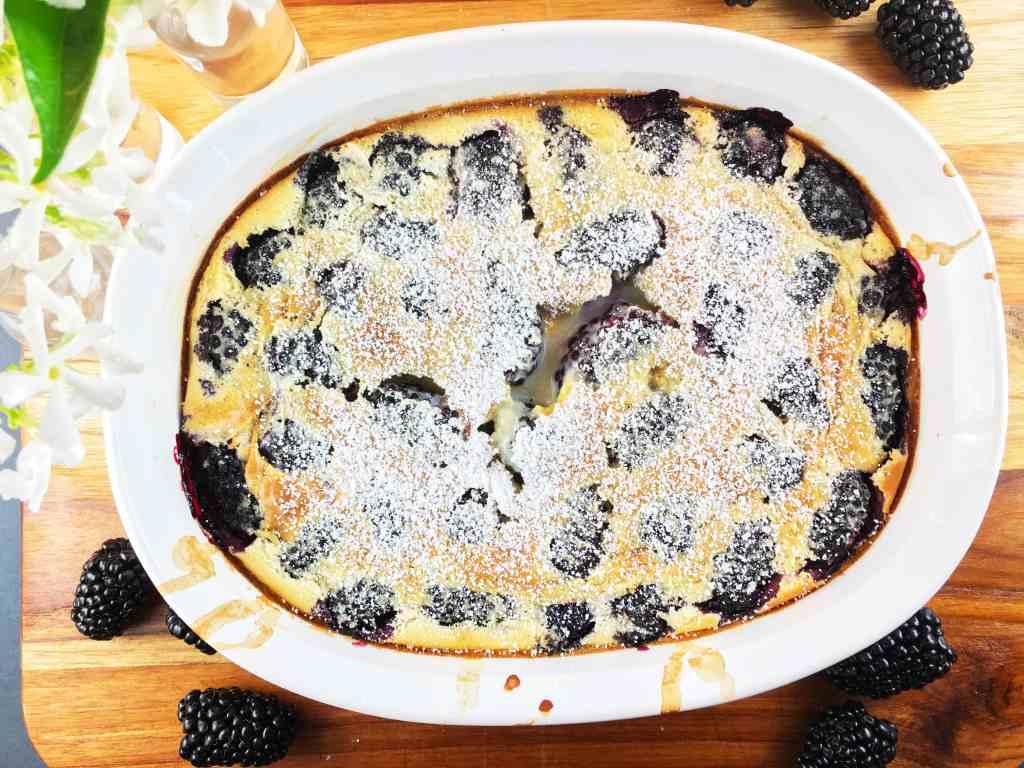 Blackberry Clafoutis