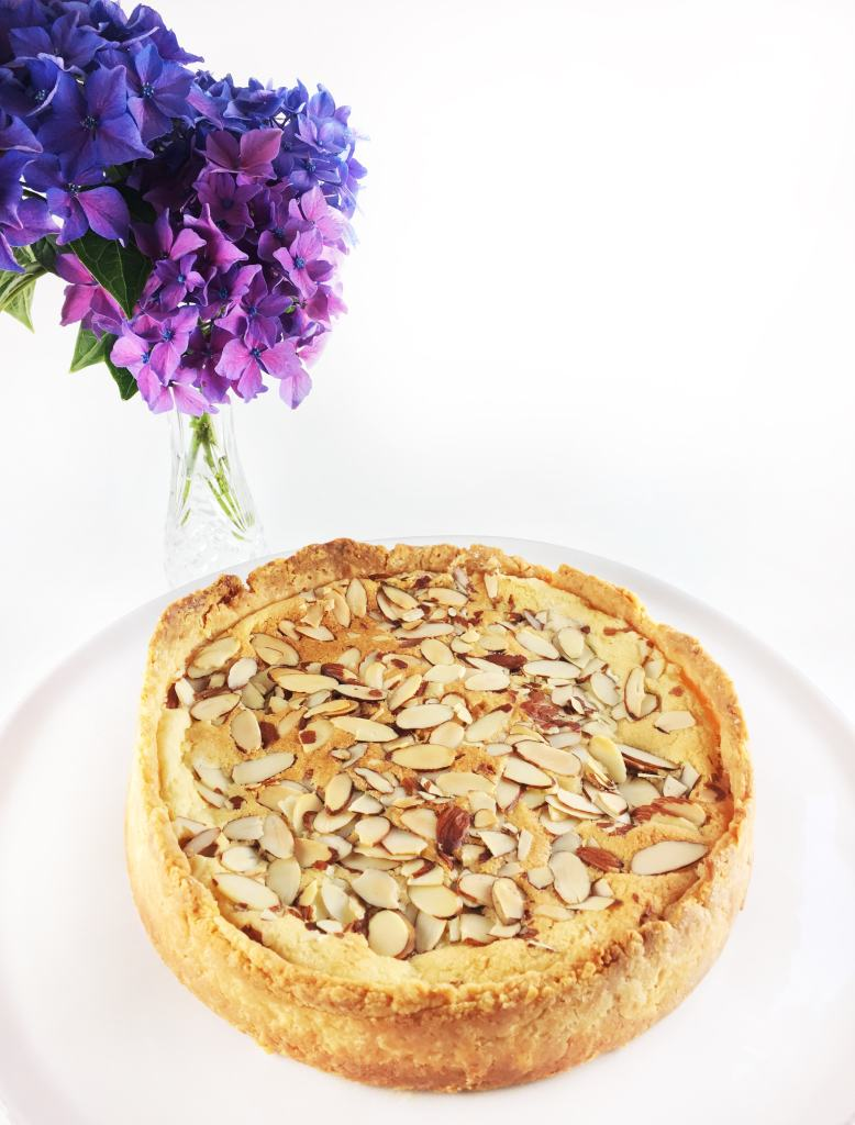 Cherry Bakewell Tart