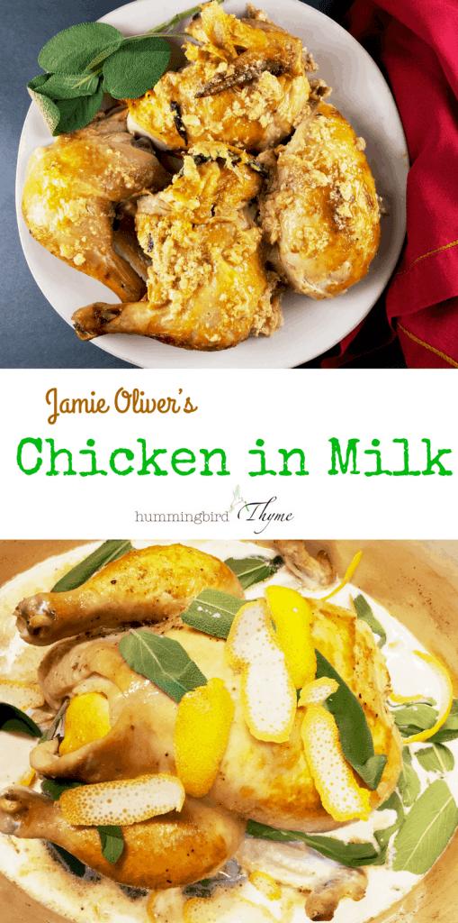 Jamie Oliver Chicken in Milk