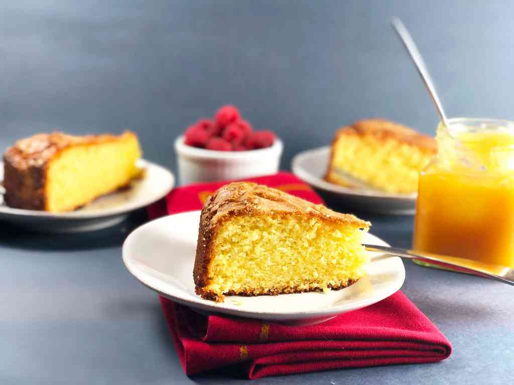 Pound cake Olive oil