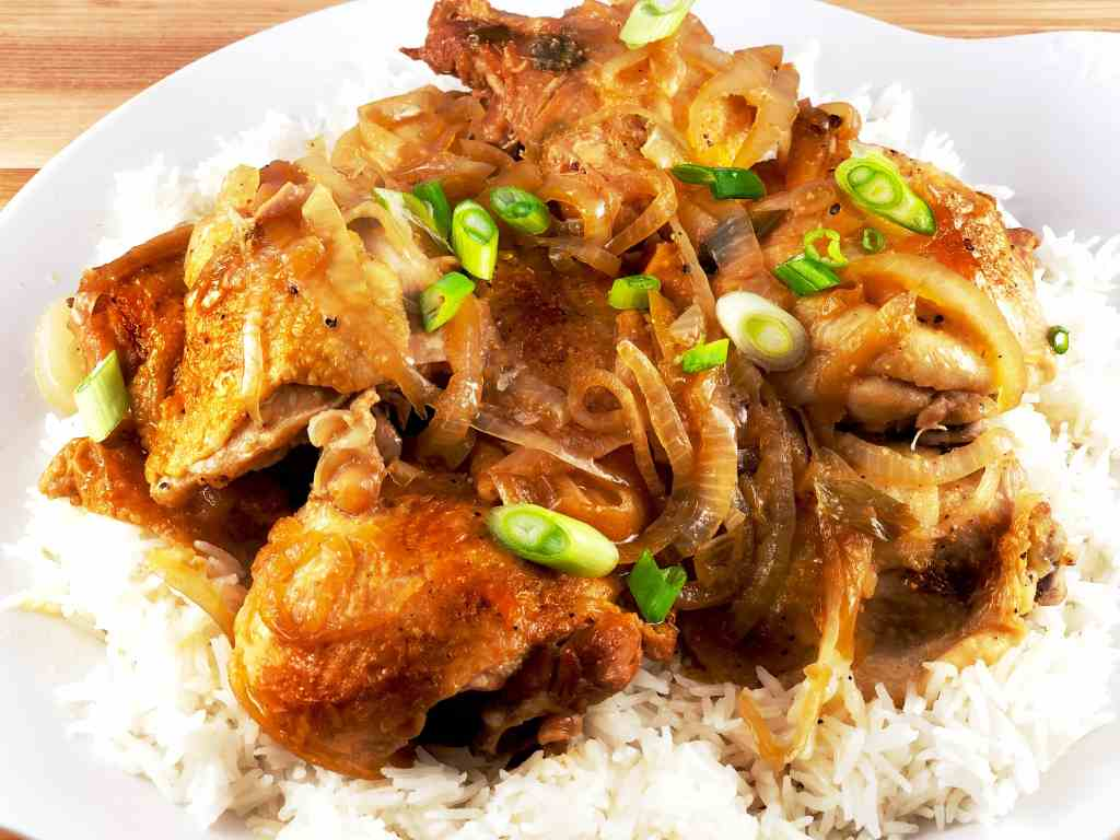 Instant Pot Chicken Adobo Hummingbird Thyme
