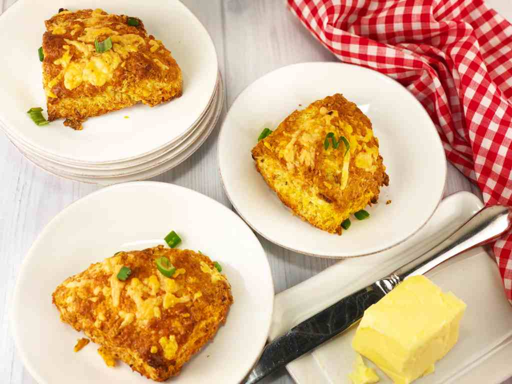 Cheddar Onion Scones