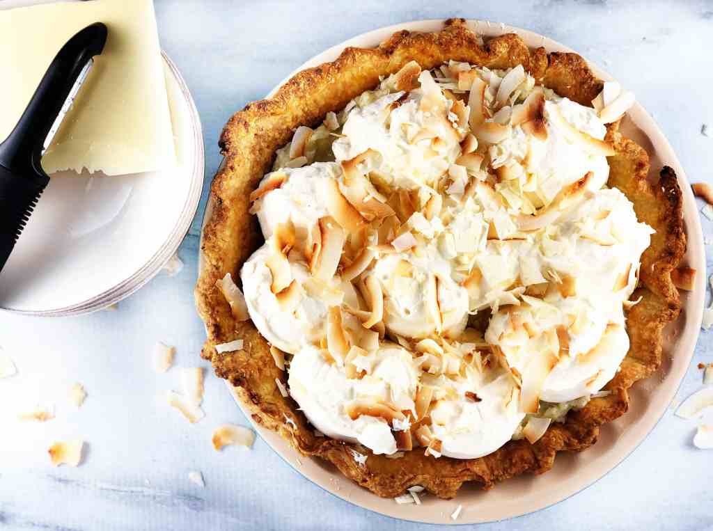 Triple Coconut Cream Pie Recipe