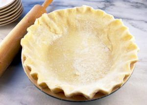 Unbaked Coconut Pie shell