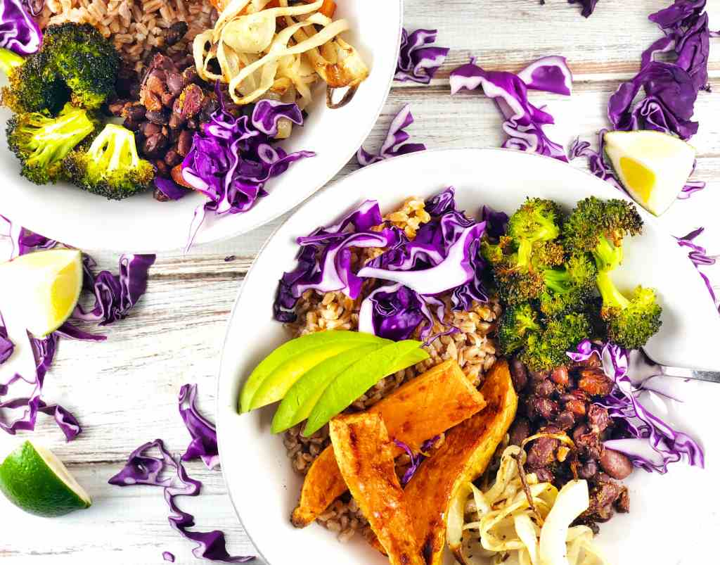 Farro Sweet Potato Buddha Bowl