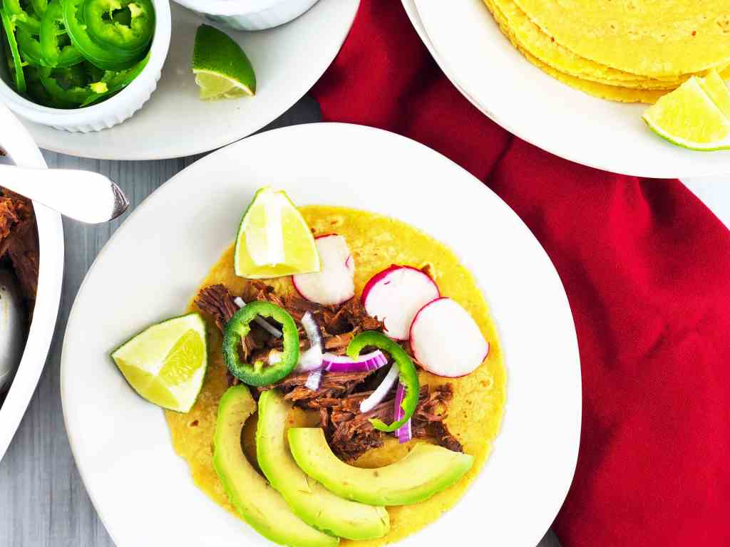 Easy Instant Pot Beef Barbacoa