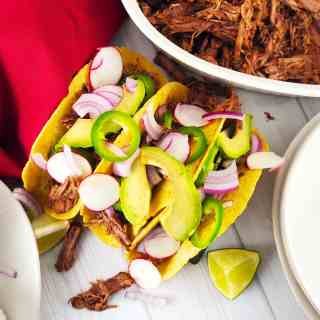 Easy Beef Barbacoa Instant Pot